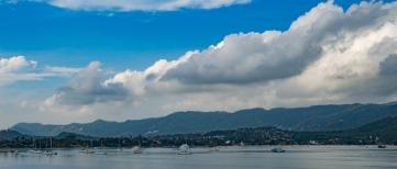 Bay view on Ko Samui